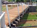 Bike Bridges timber project gallery showcasing timber products from Outdoor Structures