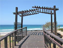 Coolum Boardwalks timber project gallery showcasing timber products from Outdoor Structures