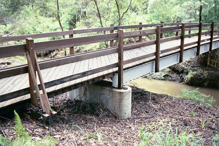 Chermside Hills Steel Bridge Timber Project Gallery - Outdoor