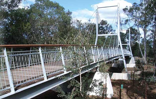Timber & Timber/Steel Pedestrian & Vehicle Bridges from