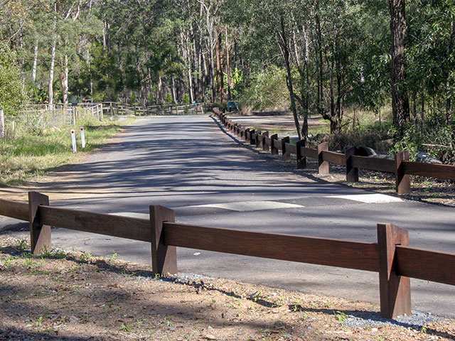how to build a post and rail fence australia
