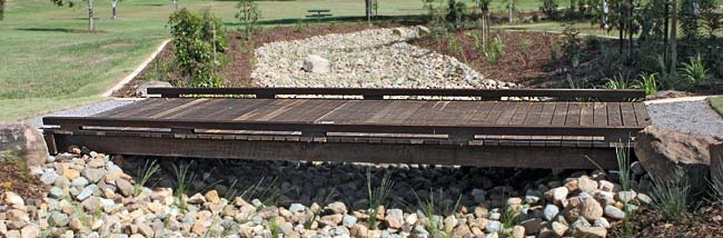 Swale Drain Bridges from Outdoor Structures
