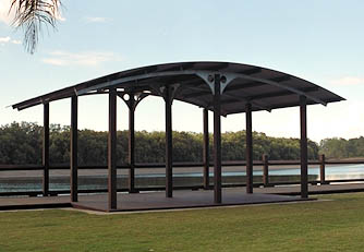 Outdoor Structures Australia - Tinchi Tamba Wetlands project
