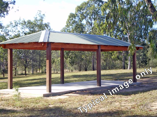 Park Shelter Designs : Timber park shelter shed designs traditional from